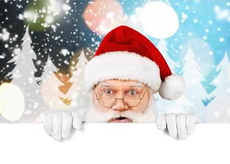 Blank sign - Christmas time!!! 写真素材