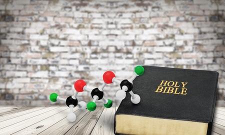 Science and Faith Foto de archivo