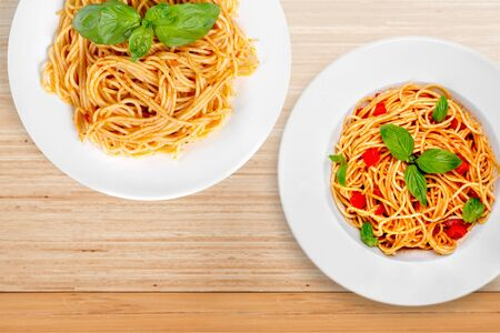 Spaghetti al Sugo Фото со стока