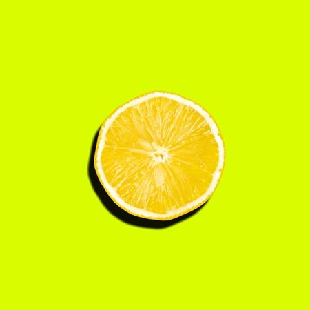 Lime Fresh. Minimalism fashion art.