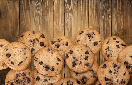 Chocolate Chip Cookies Border