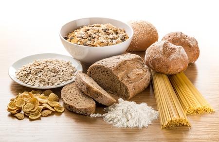 grupo de comida de grano