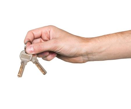 Bergabe über die Schlüssel Standard-Bild - 98875902