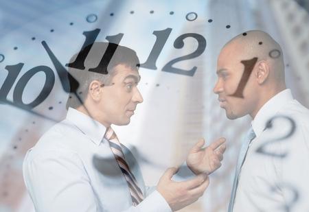 Business disagreement