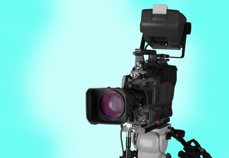 Professional HD video camera 版權商用圖片