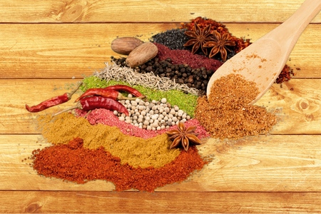 Rows of spices 3