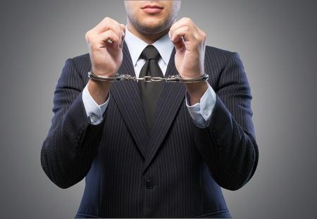 Corporate crime Stock Photo - 99714762