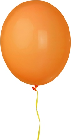 Single balloon - isolated image