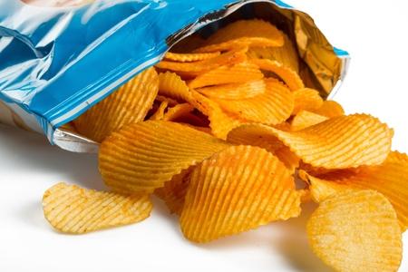 una bolsa de papas fritas