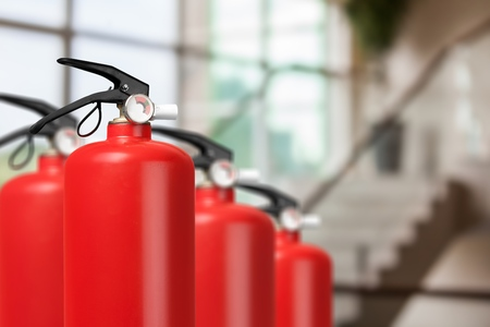 fire extinguishers available in fire emergencies