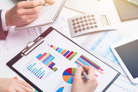 Business Analysis and Strategy concept Stock Photo