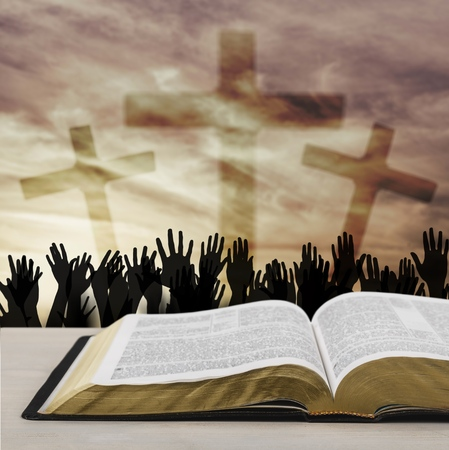 Christian religion concept Stock Photo