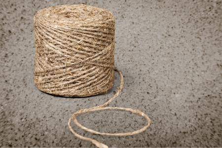 Household string rope texture