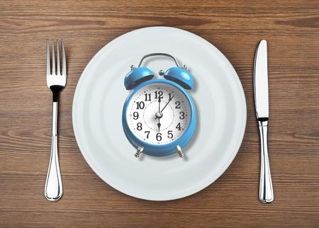 Intermittent fastin concept Stock Photo