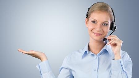 call-center representative