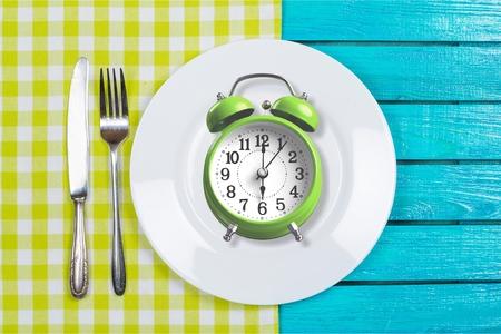 Intermittent fastin concept Stockfoto