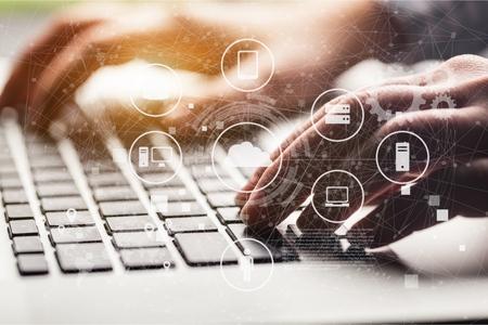 Data Management Platform concept Standard-Bild