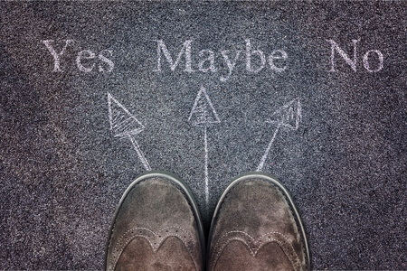 Shoes is faced with a choice