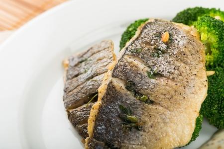 grill fish Stock Photo