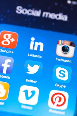 Social media are trending and both business as consumer are using it for information sharing and networking.