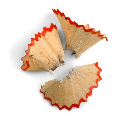 Pencil Shavings 免版税图像
