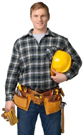 construction man portrait