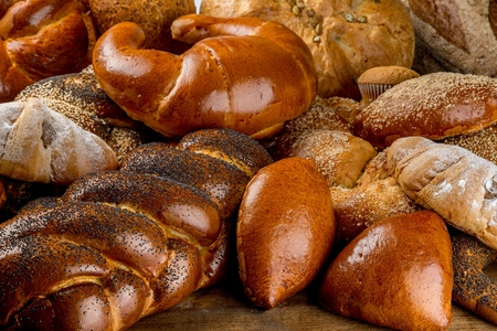 Assorted Breads and Pastry