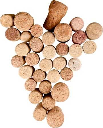 variety of corks