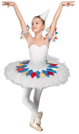 Young Ballet Dancer Performing