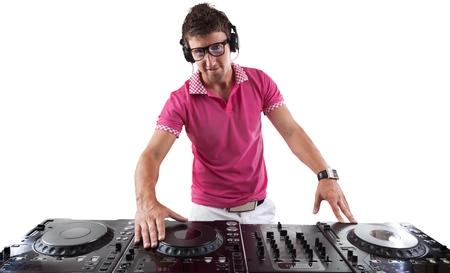 male electronic music dj