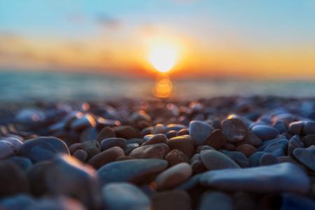 Beatiful sunset sea Reklamní fotografie