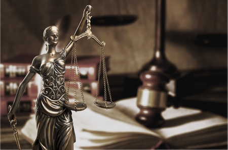 Lady Justice and Legal law concept
