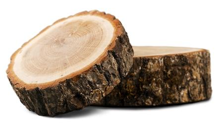 Large circular piece of wood