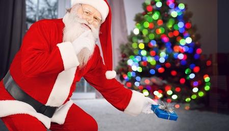 Santa - Hush Now Фото со стока