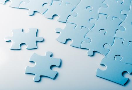 Pièces de puzzle Banque d'images