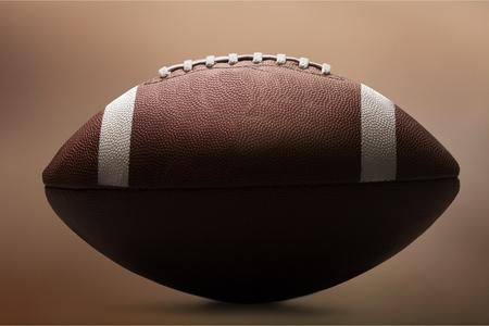 An American football concept Stock Photo