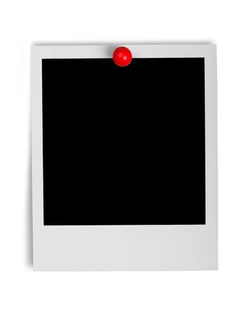 Blank Instant photo film