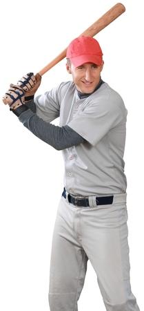 Great Baseball Batter - Isolated