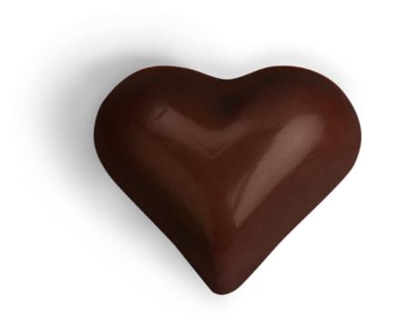 Dark chocolate candy  praline  truffle 免版税图像