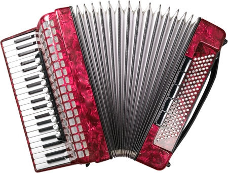 Single Accordion - Isolated