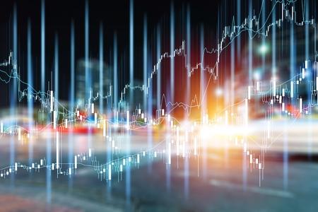 Différents types de produits financiers et d'investissement sur le marché obligataire. c'est-à-dire les REIT, les ETF, les obligations, les actions. Gestion de portefeuille durable, gestion de patrimoine à long terme avec concept de diversification des risques.