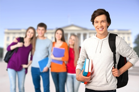 Group young Student
