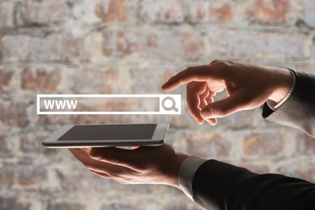 SEO analytics Concept Stock Photo
