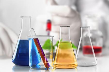 Chemistry laboratory glass equipment