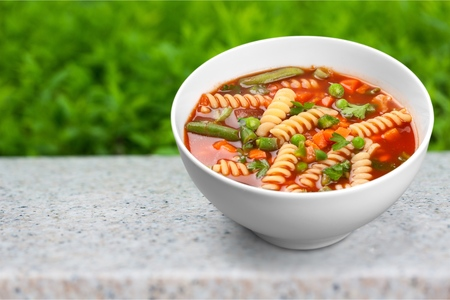 Classic soup minestrone