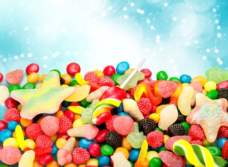 colorful candy Stockfoto
