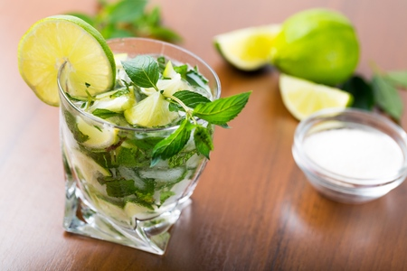 Fresh mojito drink Banque d'images - 119382258