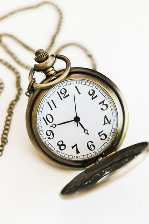 picture of a pocket watch with the number 2014, as the new year, in the dial, with a retro effect