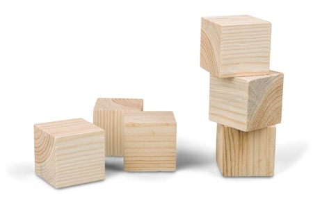 Toy Blocks Stockfoto