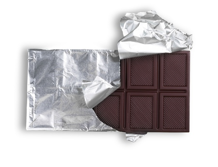Dark Chocolate Bar in the Foil